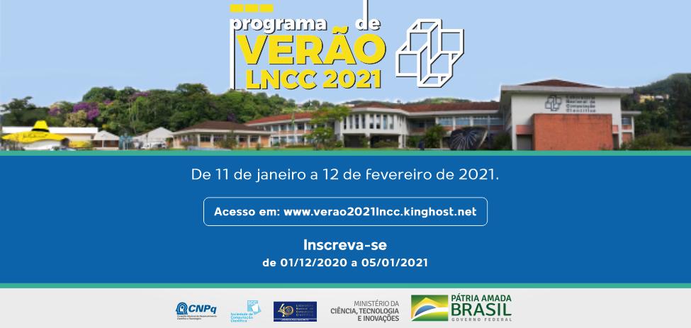 LNCC realiza Programa de Verão 2021