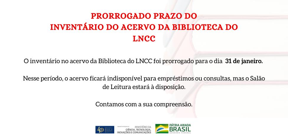 acervo do LNCC fechado para inventário no período de 02 a 24 de janeiro.png (188 KB)