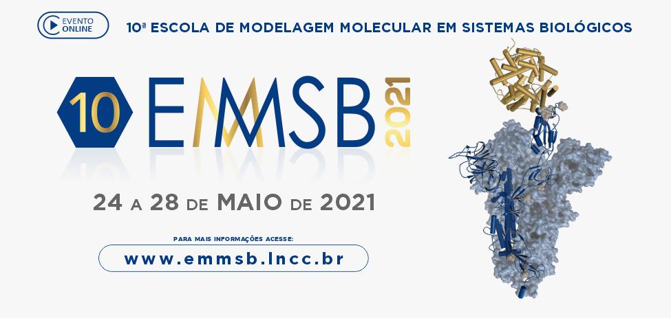 Décima edição da Escola de Modelagem Molecular em Sistemas Biológicos será realizada no mês de maio